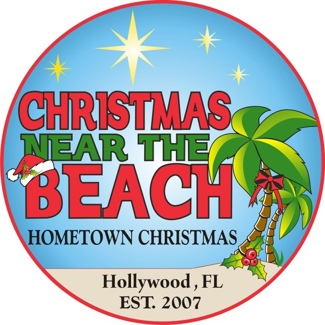 christmas near the beach cotton king logo
