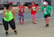 Deena and three friends form a dance quartet.