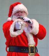 Santa, drumline, Holy Famiy-010