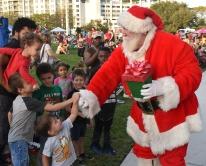 Santa, drumline, Holy Famiy-013
