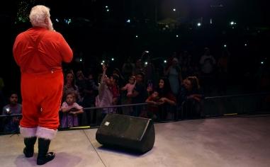 Santa, drumline, Holy Famiy-017