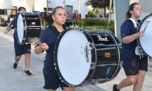 Santa, drumline, Holy Famiy-02