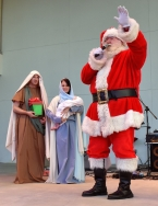 Santa, drumline, Holy Famiy-08