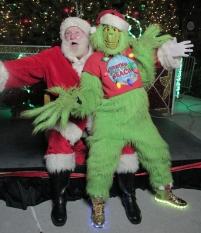 Santa and Grinchy